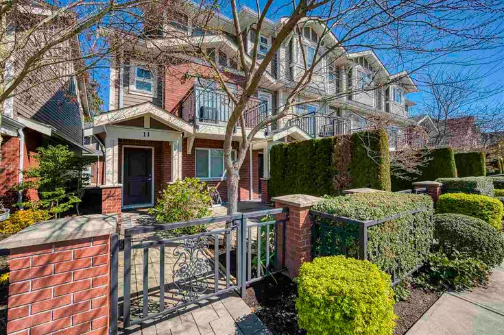 11 8391 WILLIAMS ROAD - Saunders Townhouse for sale, 3 Bedrooms (R2568784)