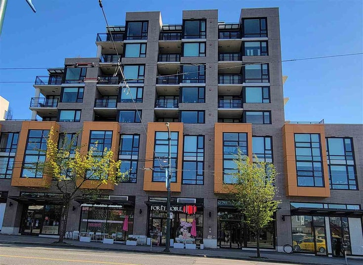 308 238 W BROADWAY - Mount Pleasant VW Apartment/Condo for sale, 1 Bedroom (R2568806)