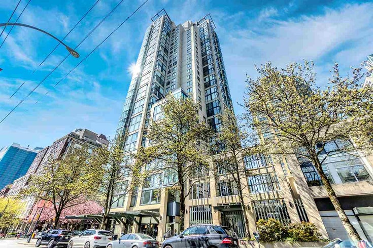 1404 1155 HOMER STREET - Yaletown Apartment/Condo for sale, 1 Bedroom (R2569307)