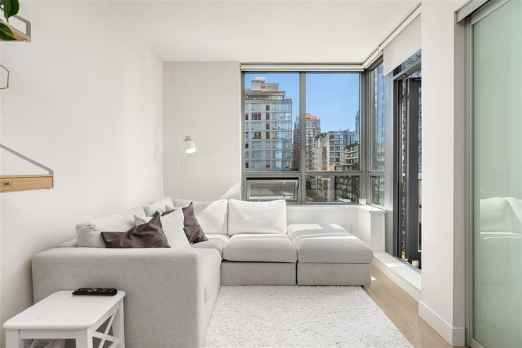 905 1308 HORNBY STREET - Downtown VW Apartment/Condo for sale, 1 Bedroom (R2569421)