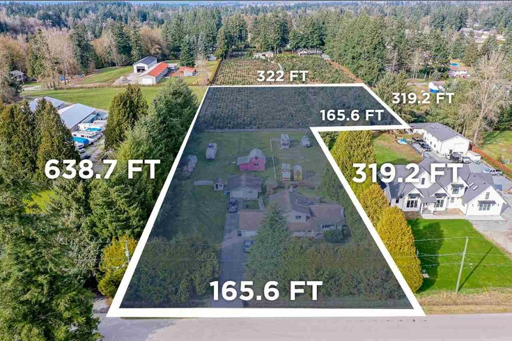 24455 50 AVE AVENUE - Salmon River House with Acreage for sale, 5 Bedrooms (R2570660)