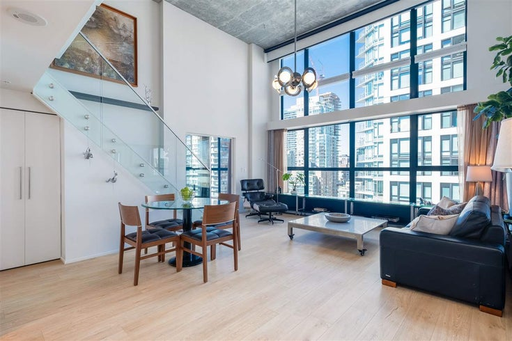 902 1238 SEYMOUR STREET - Downtown VW Apartment/Condo for sale, 1 Bedroom (R2571049)
