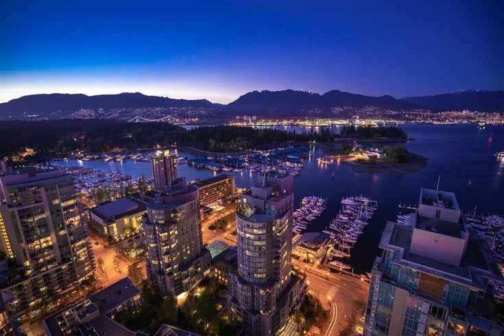 3402 1499 W PENDER STREET - Coal Harbour Apartment/Condo for sale, 2 Bedrooms (R2571290)