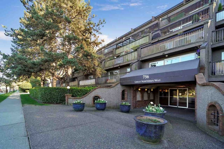 712 756 GREAT NORTHERN WAY - Mount Pleasant VE Apartment/Condo for sale, 1 Bedroom (R2571505)