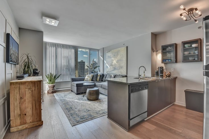 1706 1010 RICHARDS STREET - Yaletown Apartment/Condo for sale, 1 Bedroom (R2571695)