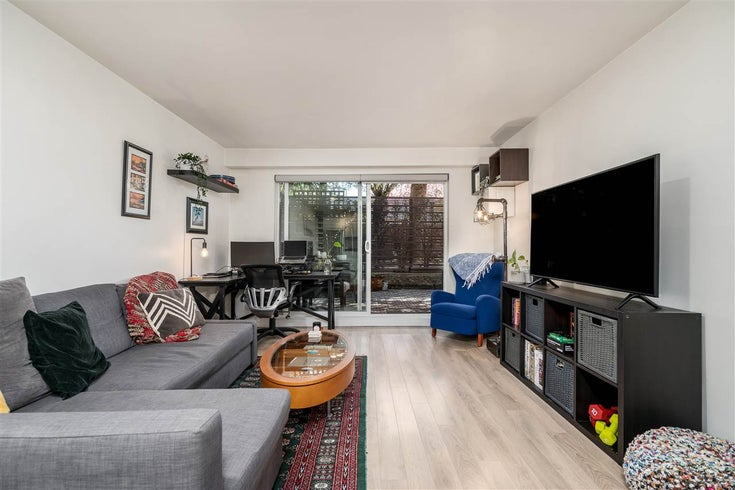 101 3353 HEATHER STREET - Cambie Apartment/Condo for sale, 1 Bedroom (R2571913)