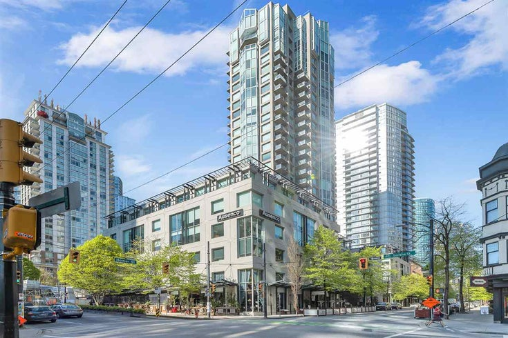 2301 889 HOMER STREET - Downtown VW Apartment/Condo for sale, 2 Bedrooms (R2571954)