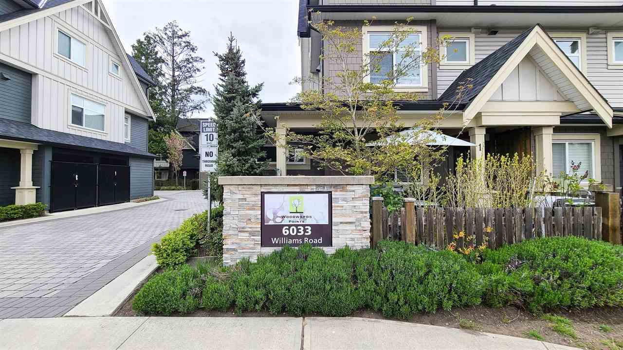 8 6033 WILLIAMS ROAD - Woodwards Townhouse for sale, 4 Bedrooms (R2572275)
