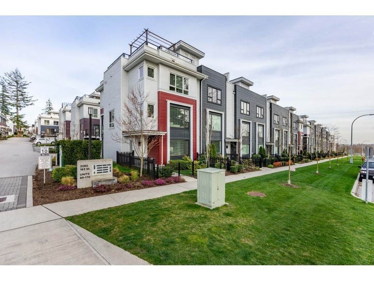 109 2280 163 STREET - Grandview Surrey Townhouse for sale, 4 Bedrooms (R2572691)