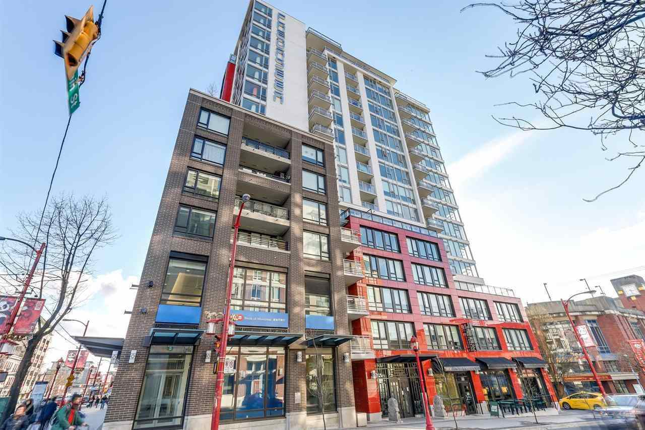 1201 188 KEEFER STREET - Downtown VE Apartment/Condo for sale, 1 Bedroom (R2572739)