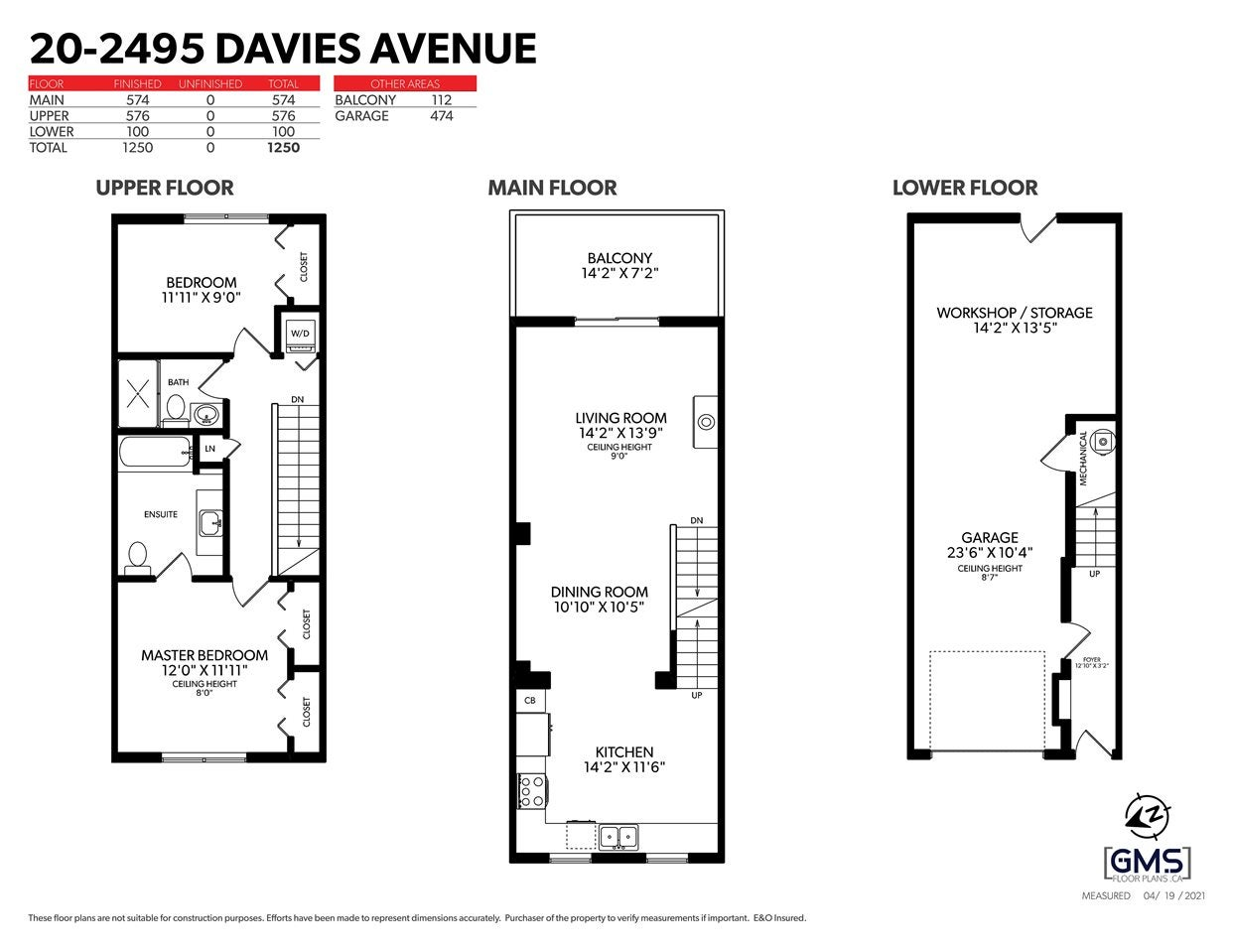 20 2495 DAVIES AVENUE - Central Pt Coquitlam Townhouse for sale, 2 Bedrooms (R2573243) - #16