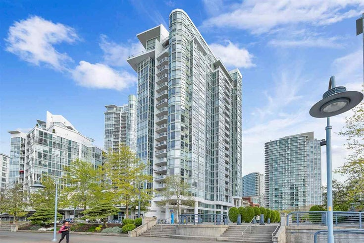 605 1077 MARINASIDE CRESCENT - Yaletown Apartment/Condo for sale, 2 Bedrooms (R2573302)
