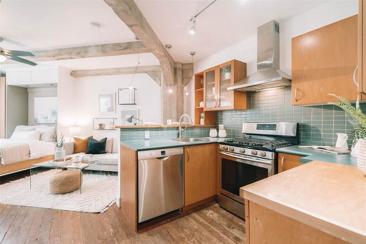 304 1216 HOMER STREET - Yaletown Apartment/Condo for sale(R2573315)