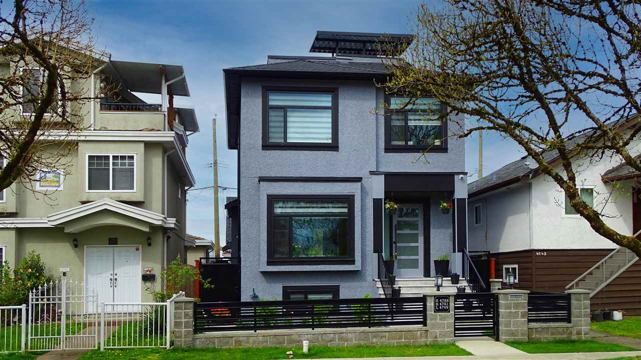 4753 GLADSTONE STREET - Victoria VE House/Single Family for sale, 5 Bedrooms (R2573343)