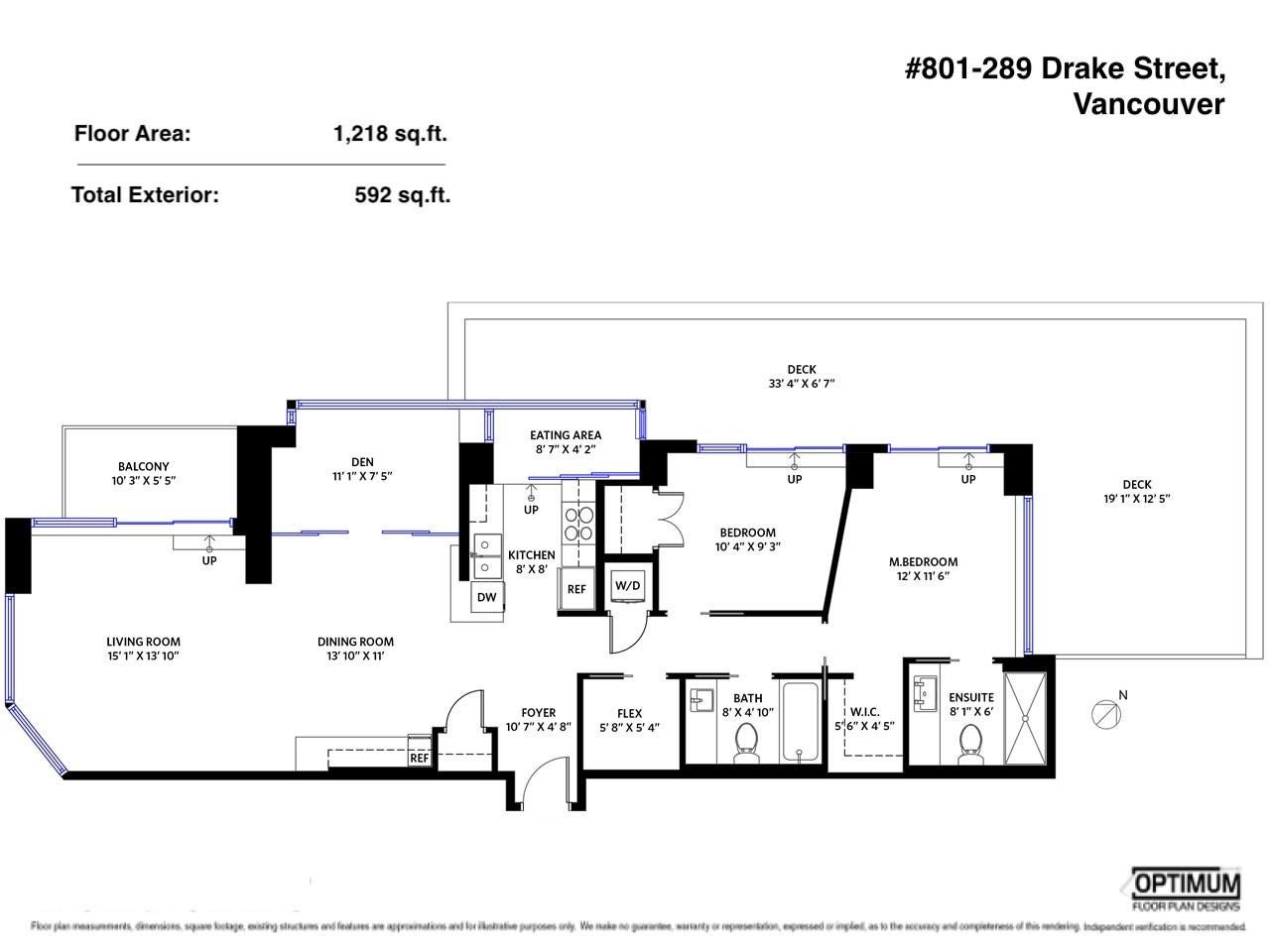 801 289 DRAKE STREET - Yaletown Apartment/Condo for sale, 2 Bedrooms (R2573397) - #30