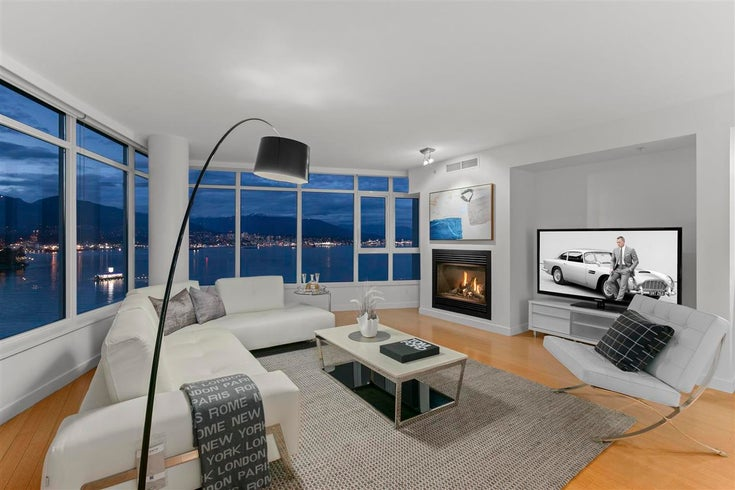 1601 1233 W CORDOVA STREET - Coal Harbour Apartment/Condo for sale, 3 Bedrooms (R2574209)