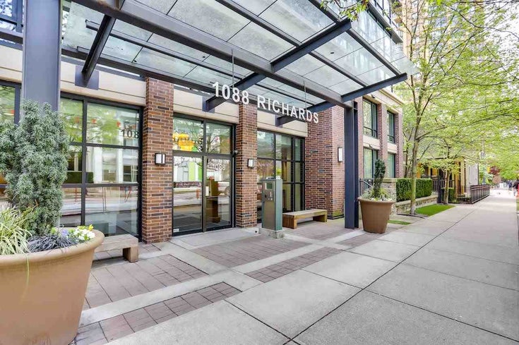 409 1088 RICHARDS STREET - Yaletown Apartment/Condo for sale, 1 Bedroom (R2574273)