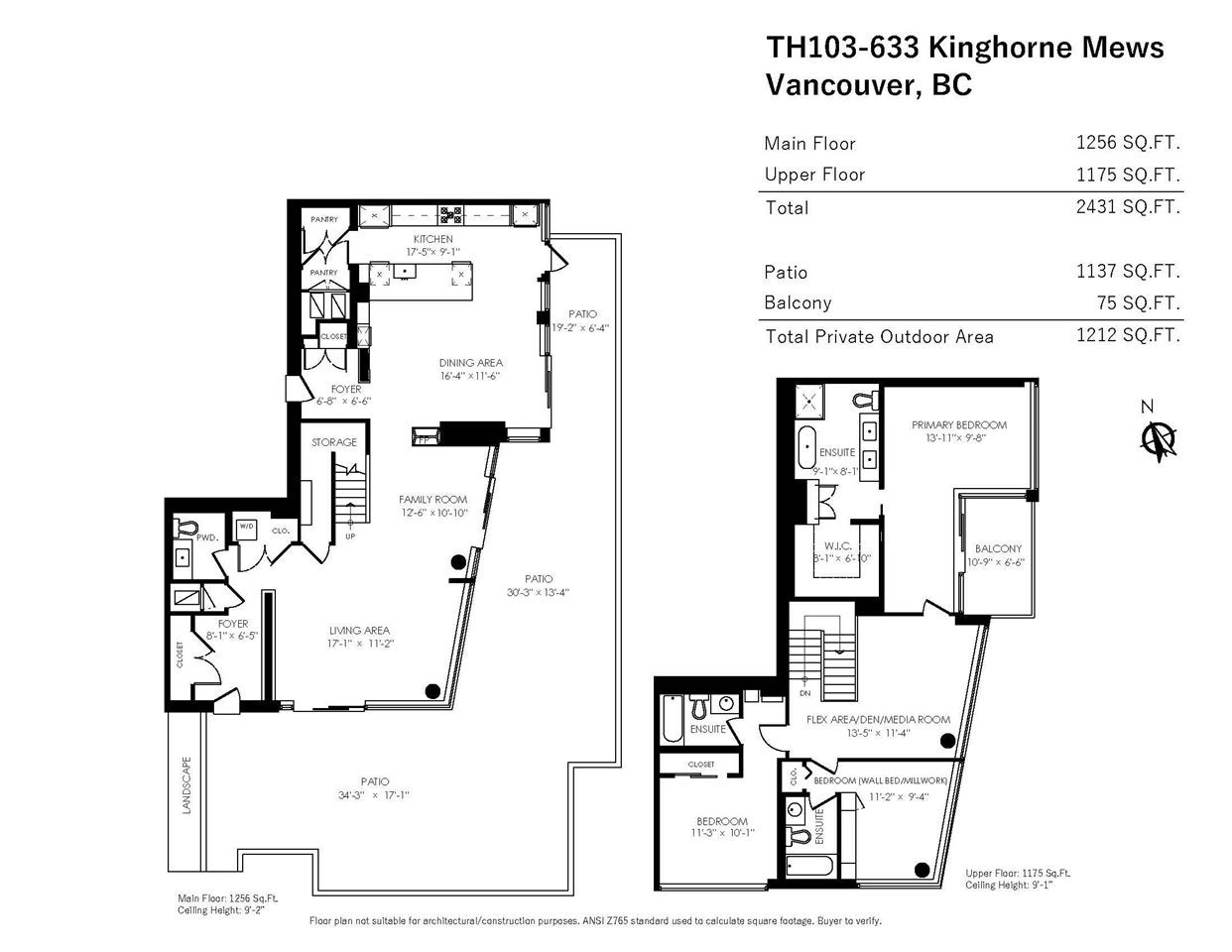 TH103 633 KINGHORNE MEWS - Yaletown Townhouse for sale, 3 Bedrooms (R2574326) - #30