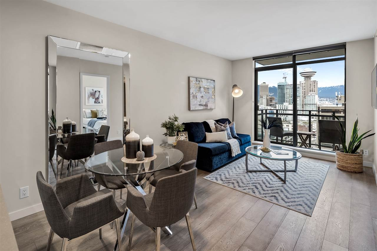 1907 788 RICHARDS STREET - Downtown VW Apartment/Condo for sale, 1 Bedroom (R2574461) - #1
