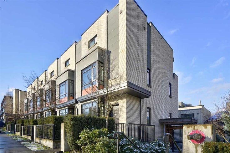 1 593 W KING EDWARD AVENUE - Cambie Townhouse for sale, 3 Bedrooms (R2574473)