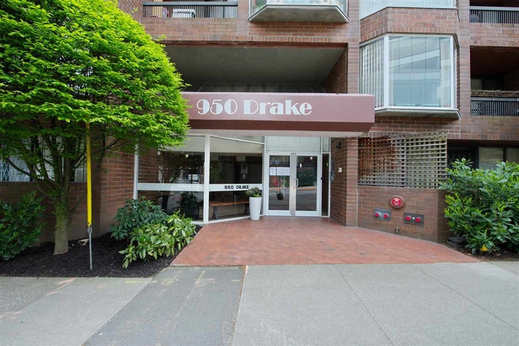 609 950 DRAKE STREET - Downtown VW Apartment/Condo for sale, 1 Bedroom (R2574592)