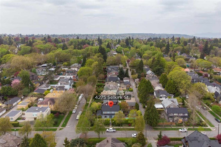 4275 SELKIRK STREET - Shaughnessy House/Single Family for sale, 4 Bedrooms (R2574675)