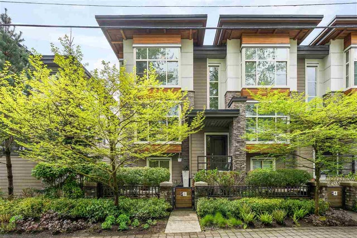5 3025 BAIRD ROAD - Lynn Valley Townhouse for sale, 3 Bedrooms (R2574679)