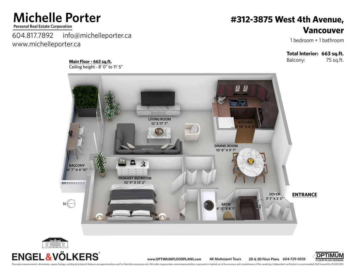 312 3875 W 4TH AVENUE - Point Grey Apartment/Condo for sale, 1 Bedroom (R2574731) - #23