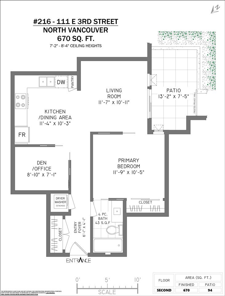 216 111 E 3RD STREET - Lower Lonsdale Apartment/Condo for sale, 1 Bedroom (R2574797) - #26