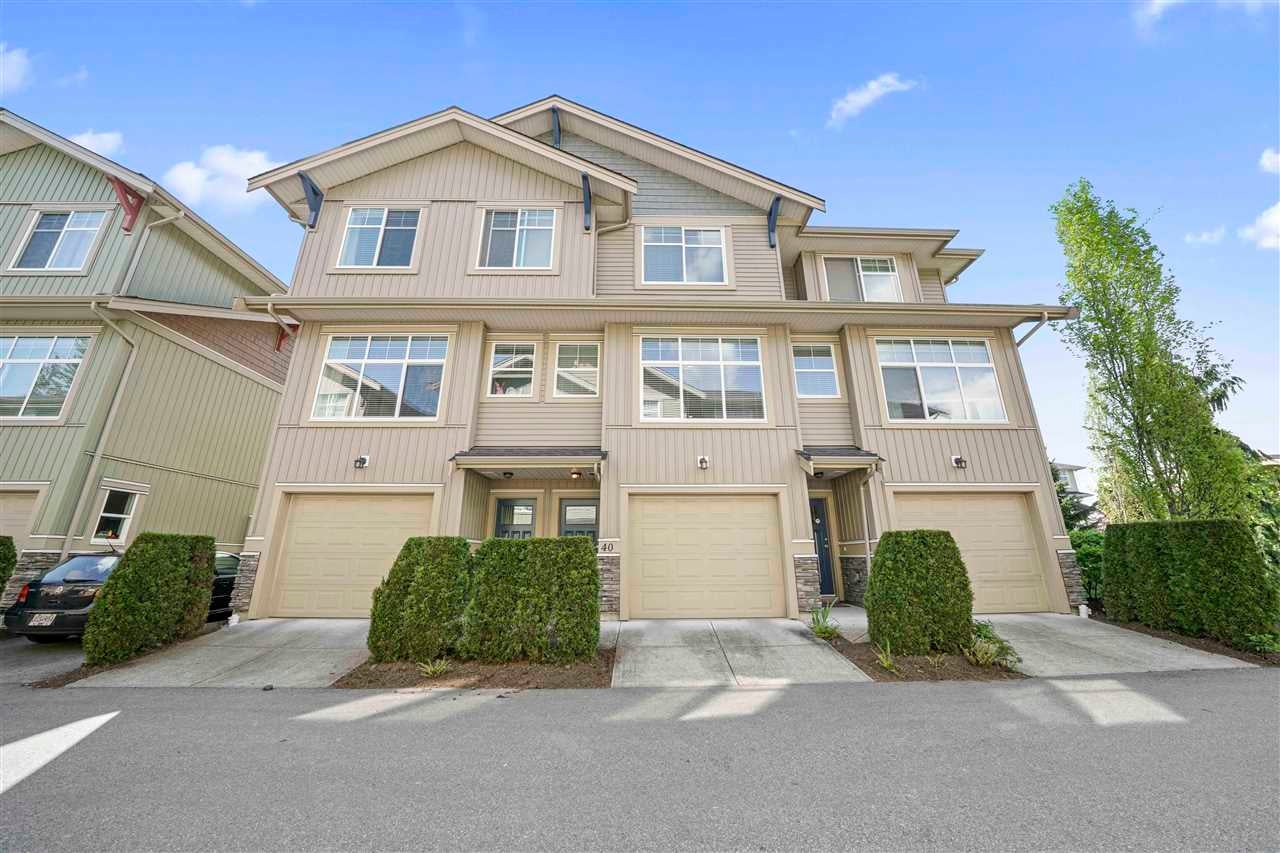 40 20966 77A AVENUE - Willoughby Heights Townhouse for sale, 3 Bedrooms (R2574825) - #1
