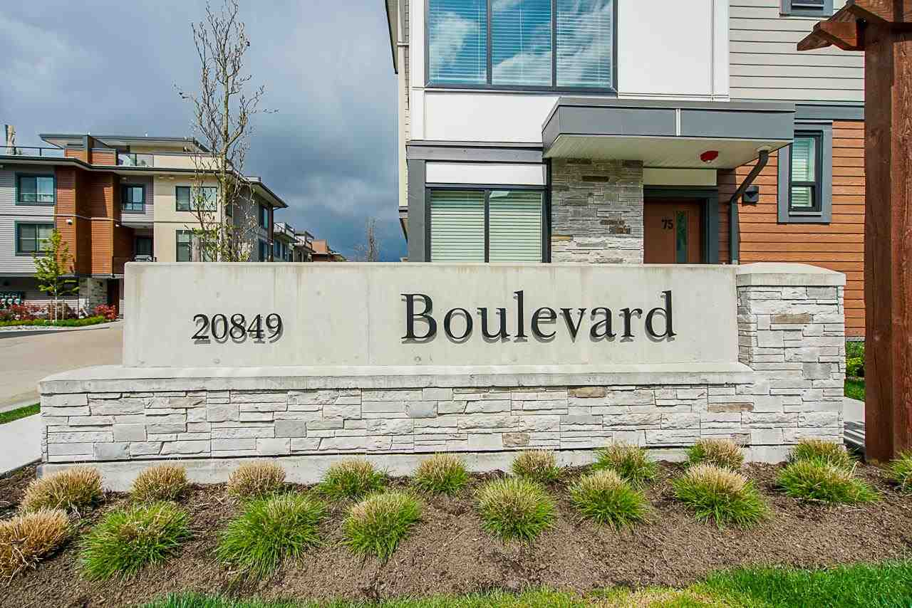 31 20849 78B AVENUE - Willoughby Heights Townhouse for sale, 3 Bedrooms (R2574916) - #1