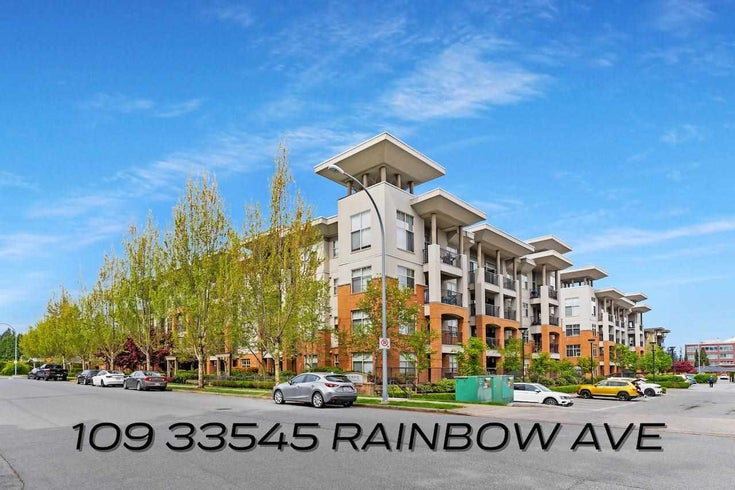 109 33545 RAINBOW AVENUE - Central Abbotsford Apartment/Condo for sale, 2 Bedrooms (R2575018)