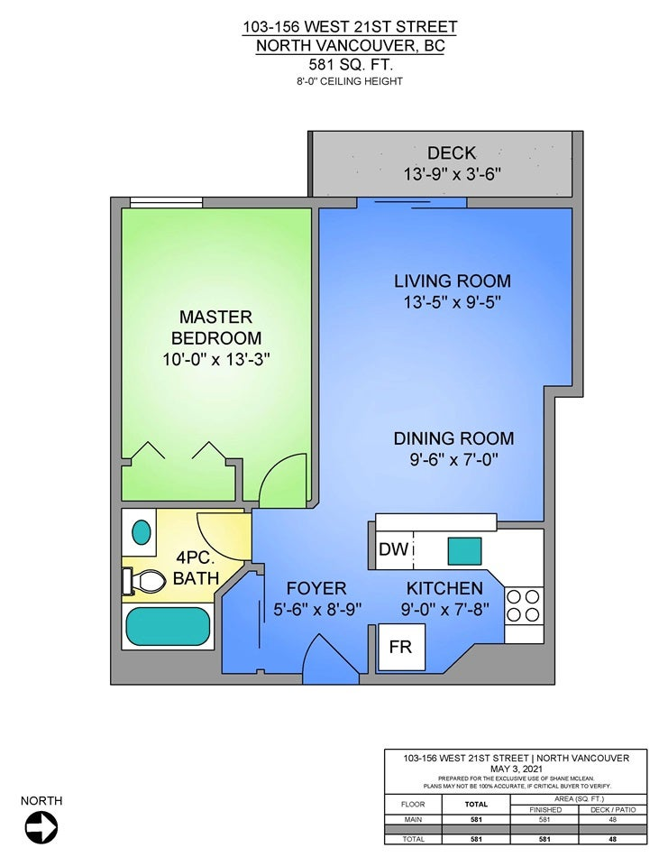 103 156 W 21ST STREET - Central Lonsdale Apartment/Condo for sale, 1 Bedroom (R2575204) - #26