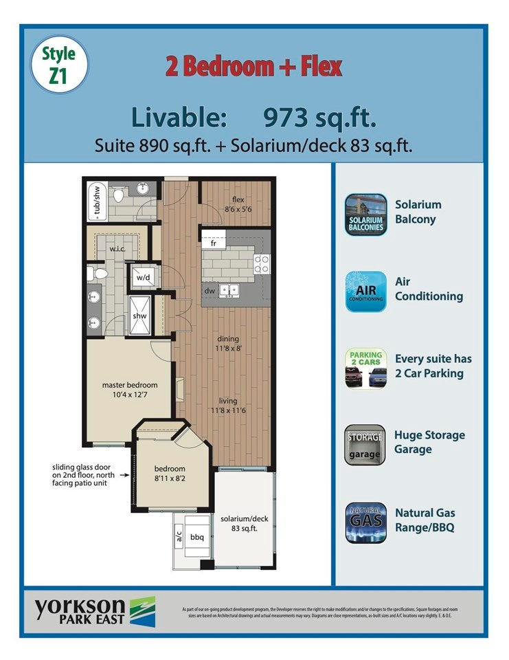 507 20376 86 AVENUE - Willoughby Heights Apartment/Condo for sale, 2 Bedrooms (R2575509) - #1