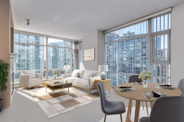 801 198 AQUARIUS MEWS - Yaletown Apartment/Condo for sale, 1 Bedroom (R2575531)