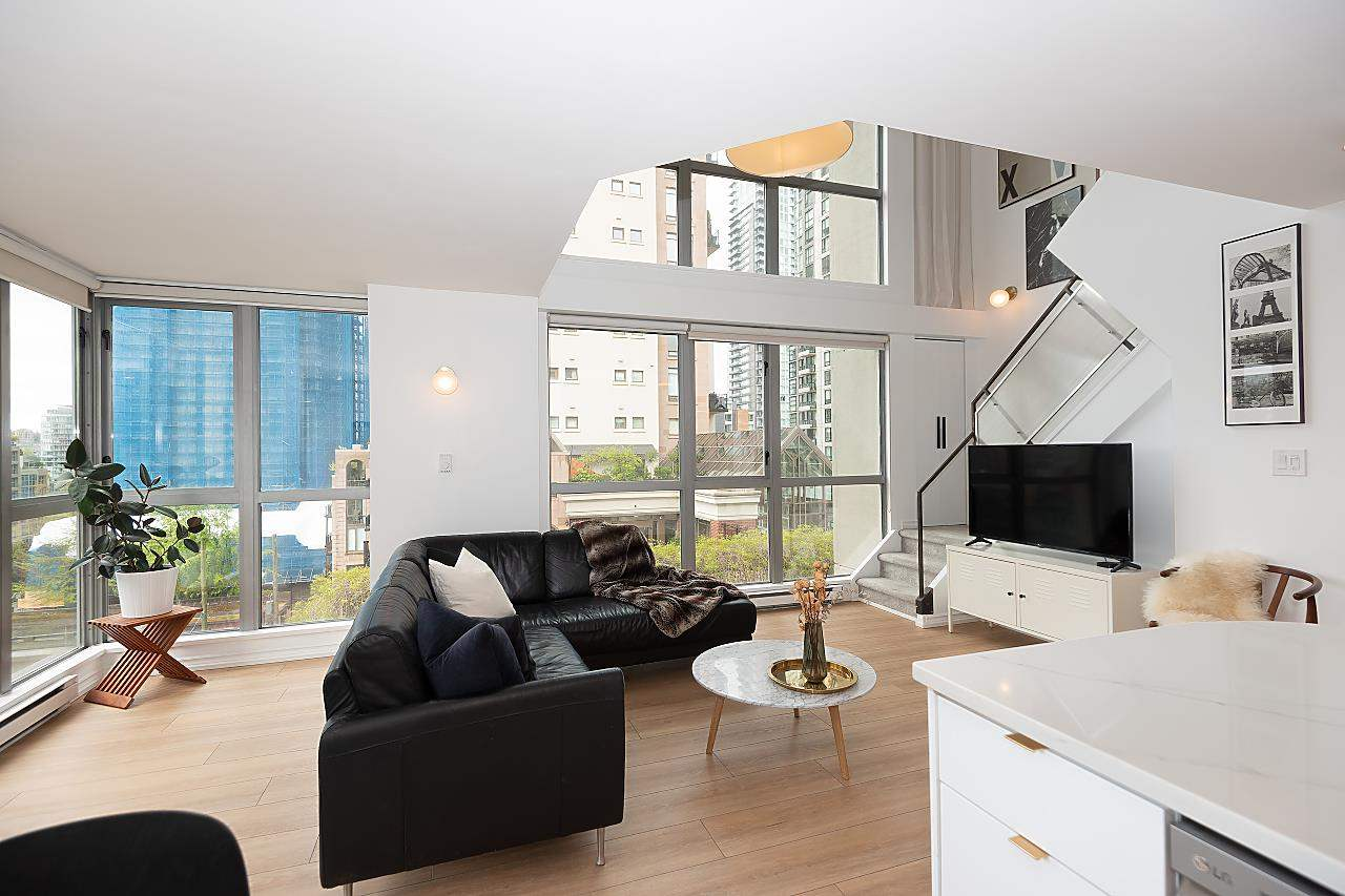 601 1238 RICHARDS STREET - Yaletown Apartment/Condo for sale, 2 Bedrooms (R2575548) - #1