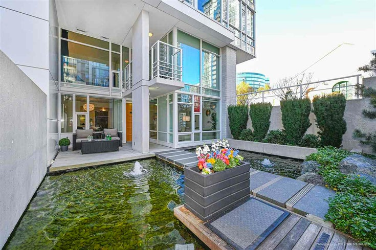 112 161 W GEORGIA STREET - Downtown VW Townhouse for sale, 2 Bedrooms (R2575699)