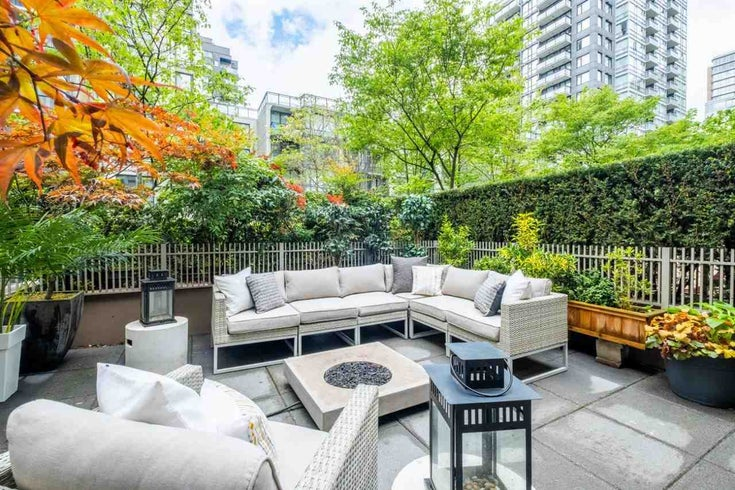 201 1055 RICHARDS STREET - Downtown VW Apartment/Condo for sale, 1 Bedroom (R2575732)