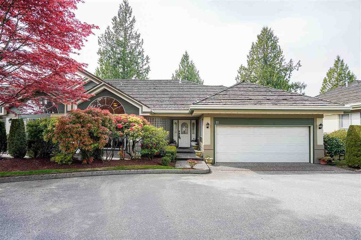 11 4001 OLD CLAYBURN ROAD - Abbotsford East Townhouse for sale, 3 Bedrooms (R2575947)