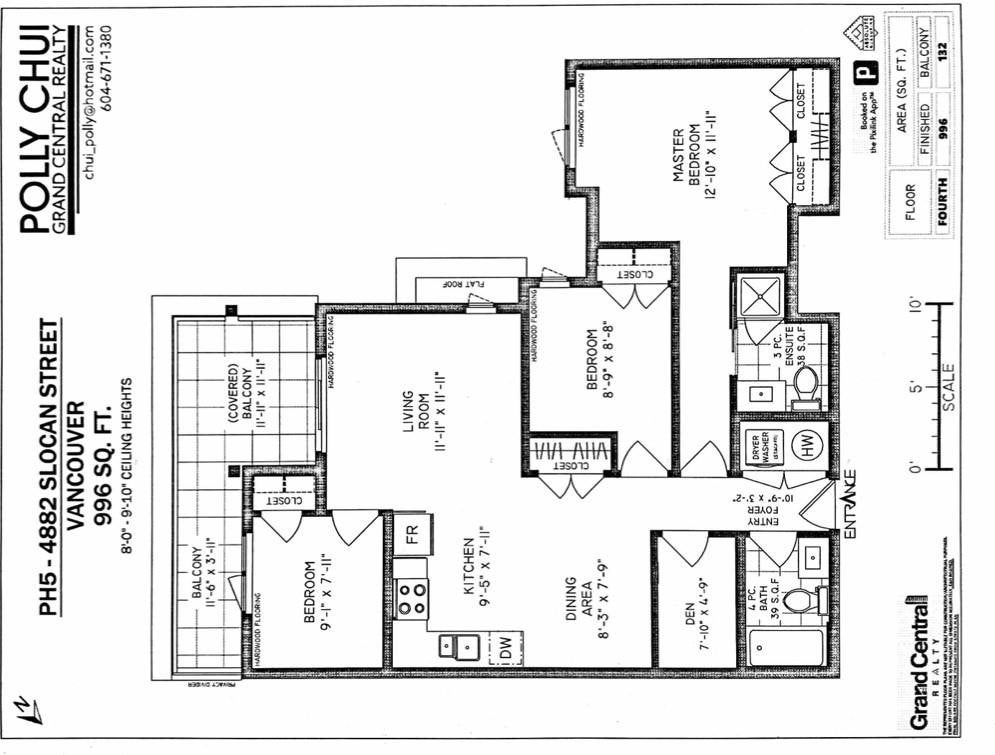 PH5 4882 SLOCAN STREET - Collingwood VE Apartment/Condo for sale, 3 Bedrooms (R2576085) - #14
