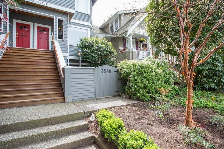 3548 POINT GREY ROAD - Kitsilano Townhouse for sale, 1 Bedroom (R2576104)