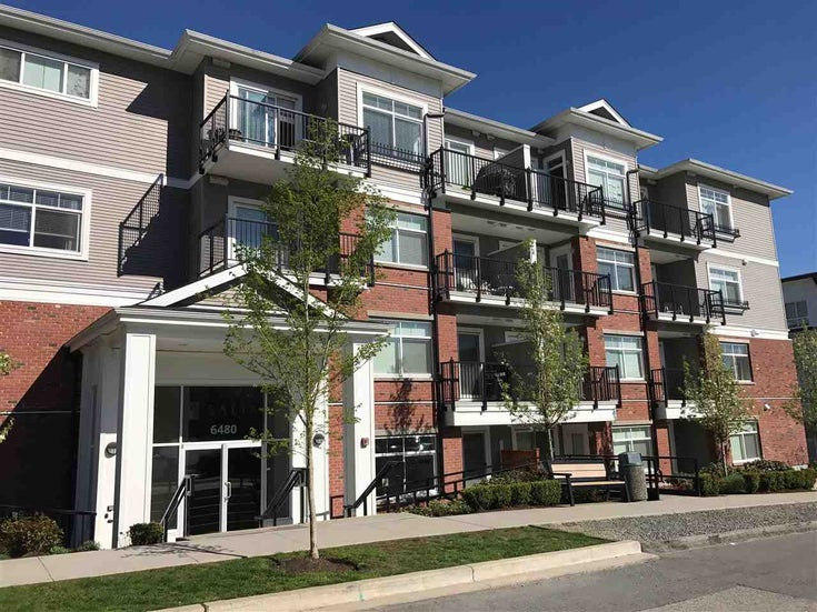 317 6480 195A STREET - Clayton Apartment/Condo for sale, 1 Bedroom (R2576319)