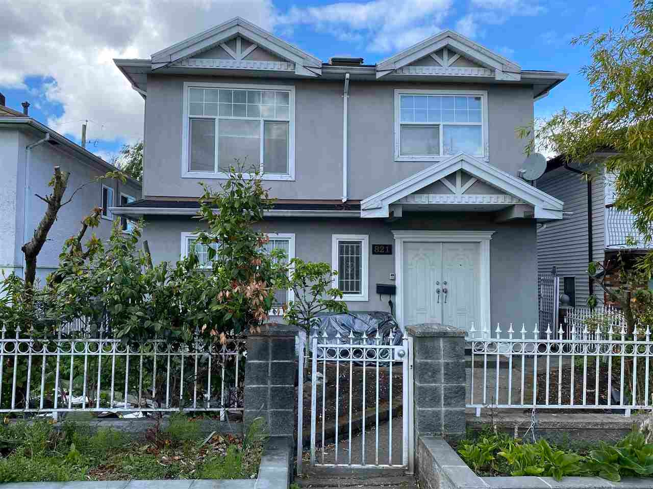 821 NANAIMO STREET - Hastings House/Single Family for sale, 6 Bedrooms (R2576331) - #1