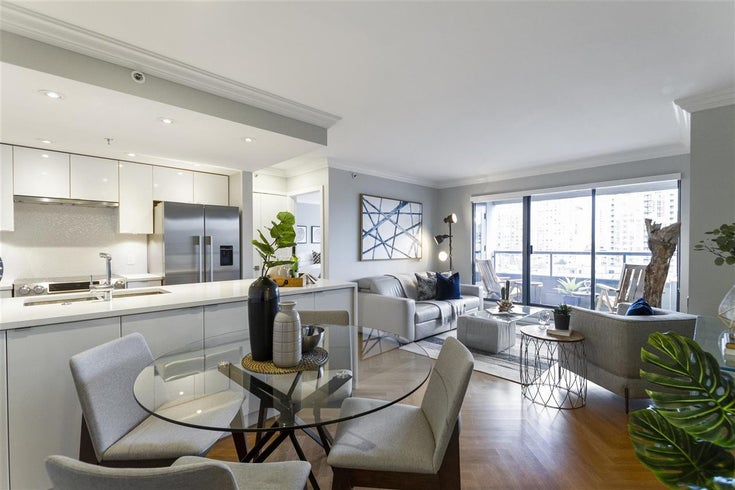 1208 1060 ALBERNI STREET - West End VW Apartment/Condo for sale, 2 Bedrooms (R2576402)
