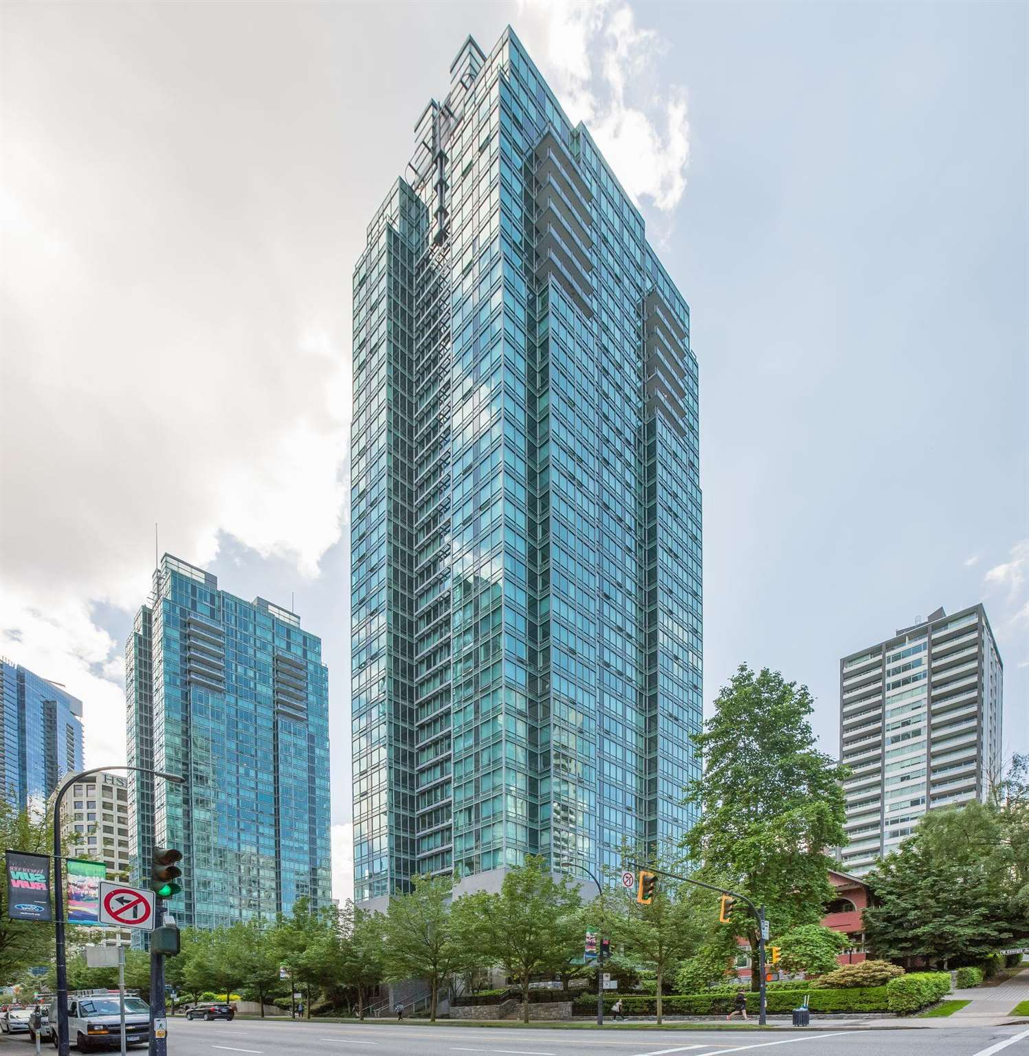 1905 1288 W GEORGIA STREET - West End VW Apartment/Condo for sale, 1 Bedroom (R2576639) - #1