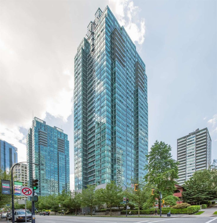 1905 1288 W GEORGIA STREET - West End VW Apartment/Condo for sale, 1 Bedroom (R2576639)