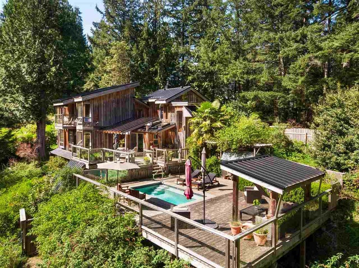 1273 HIKERS TRAIL ROAD - Bowen Island House/Single Family for sale, 2 Bedrooms (R2576924)