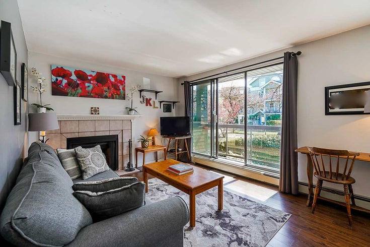 205 1875 W 8TH AVENUE - Kitsilano Apartment/Condo for sale, 2 Bedrooms (R2577003)