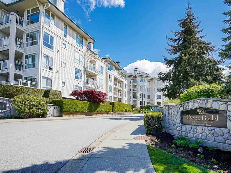 306 3629 DEERCREST DRIVE - Roche Point Apartment/Condo for sale, 1 Bedroom (R2577264)