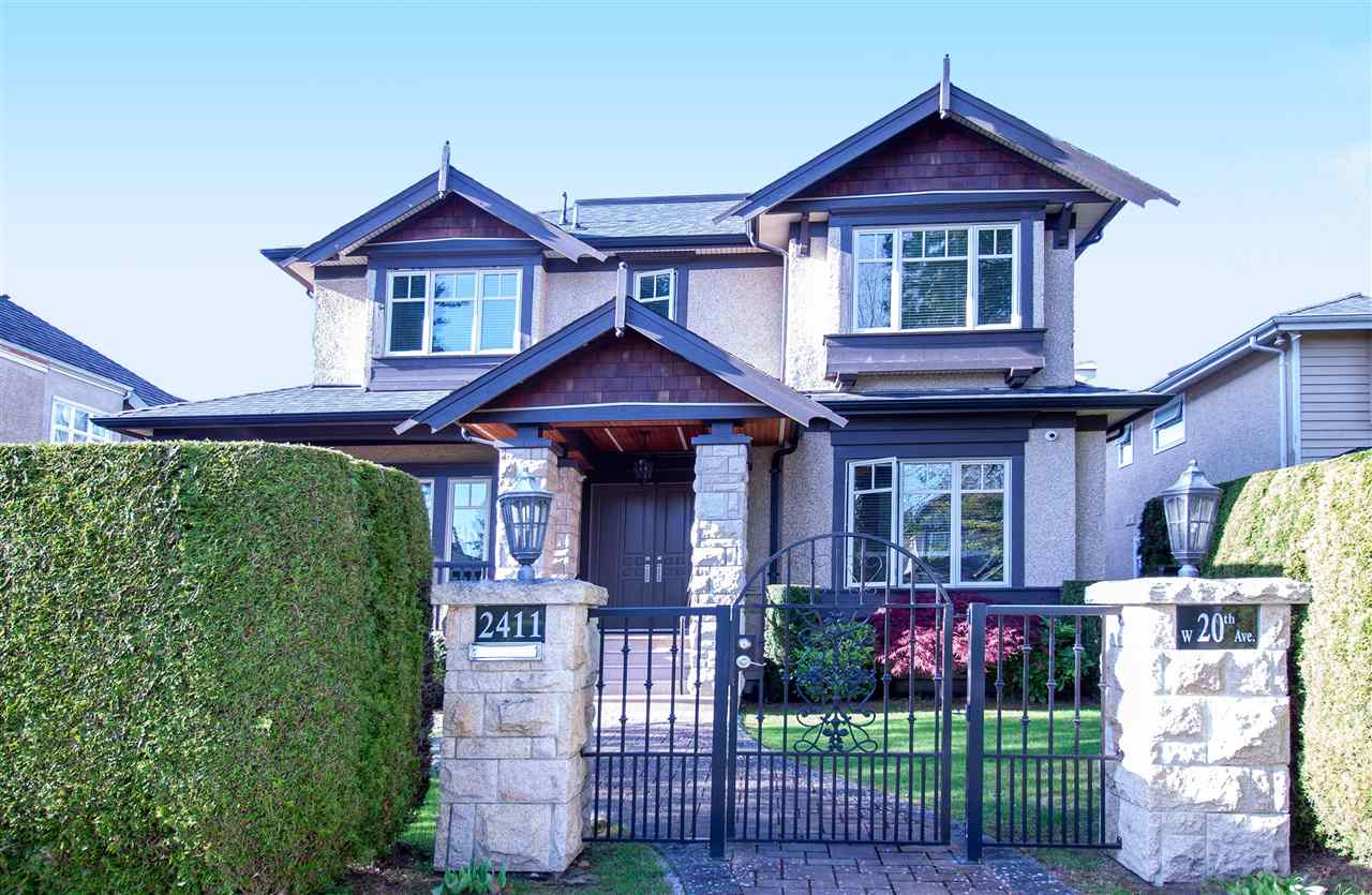 2411 W 20TH AVENUE - Arbutus House/Single Family for sale, 7 Bedrooms (R2577558)